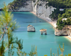 Bike and Beach on the Adriatic Coast: Baia delle Zagare