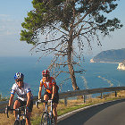 A bike tour in adriatic coast